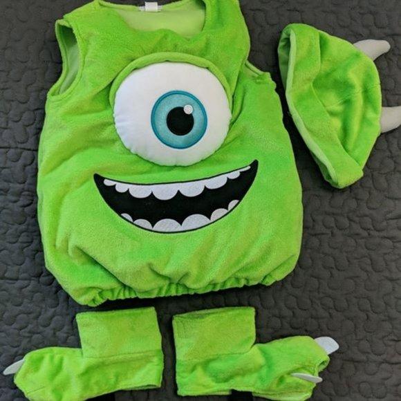 Disney Costumes Mike Wazowski Monsters Inc Baby Costume 69 Months Poshmark